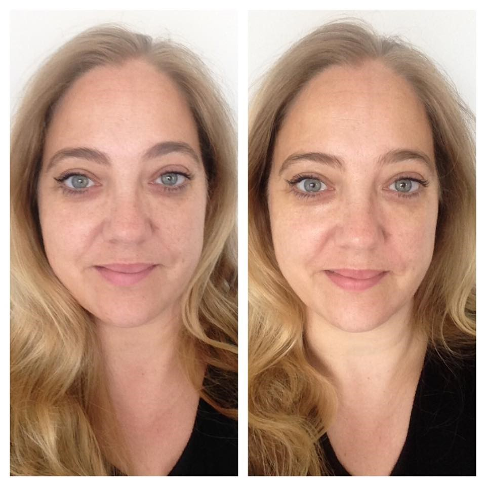 bare minerals before and after. before \u0026 after using bareminerals skinsorials range bare minerals and t