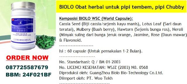 obat herbal untuk pipi tembem,