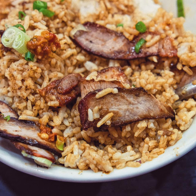 Charsiew Rice