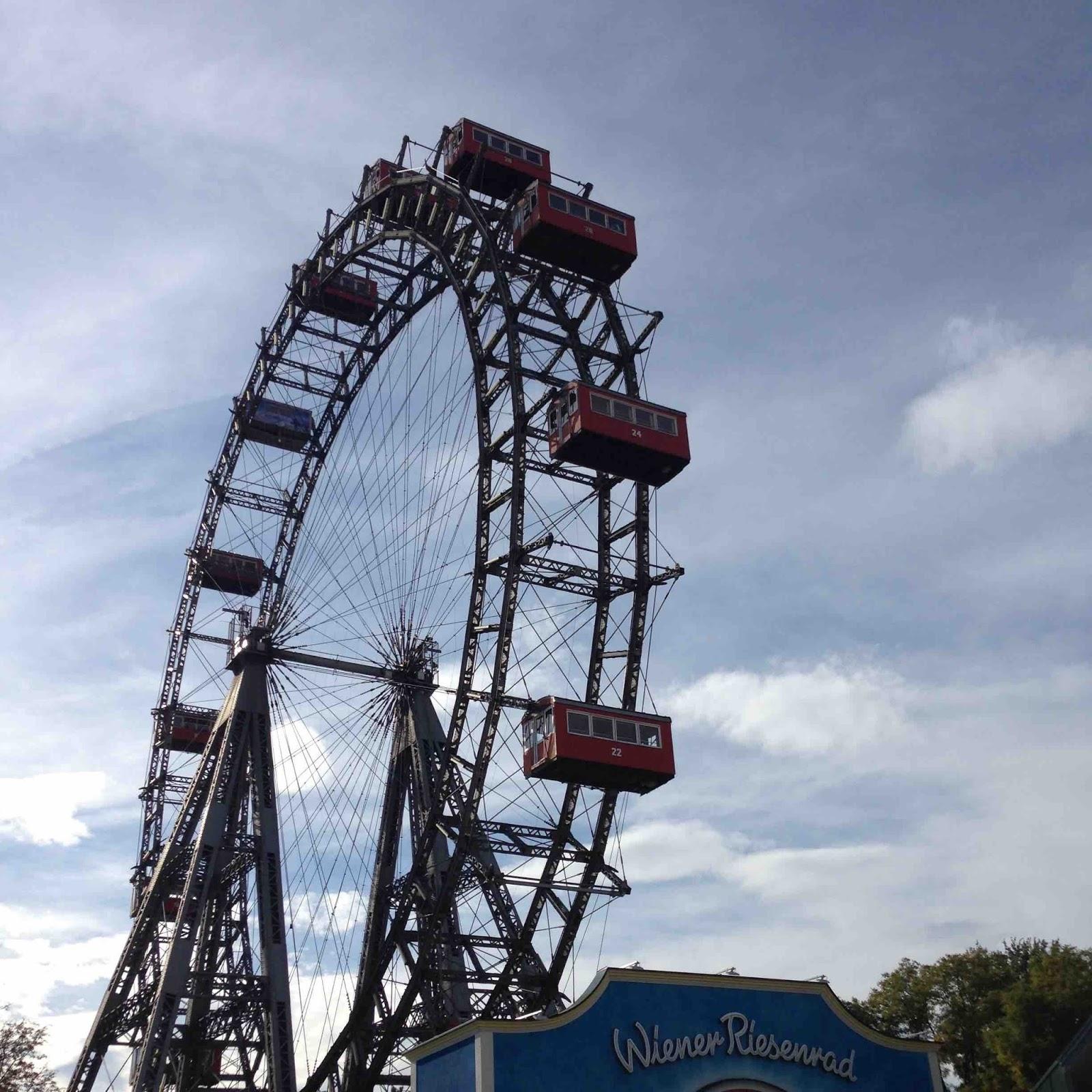 Wien Riesenrad im Prater