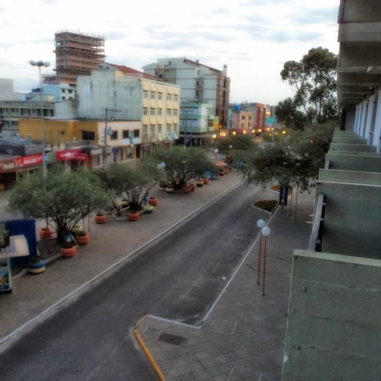 Avenida Emancipação Vista do Hotel Beira-Mar, Tramandaí
