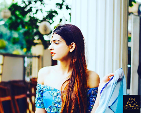 Indian Fashion Blog - Indian Designer Mithi Kalra's Outfit