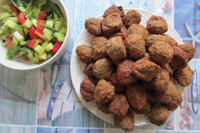 Keftedakia, greckie klopsiki