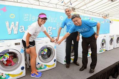 máy giặt electrolux bị rung lắc