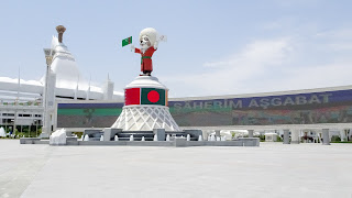 Its ready for tournaments but Turkmenistan doesnt like to have mass tourism