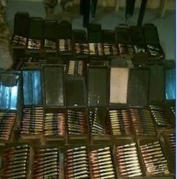 boko haram arms storage camp borno
