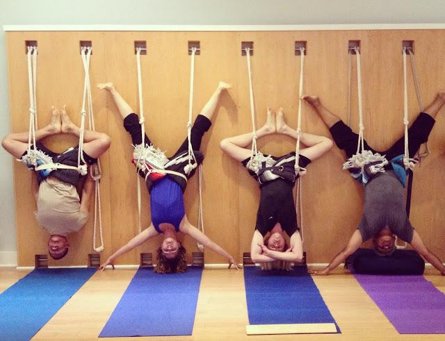 Tập Yoga với dây thừng tại sao không ?