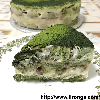Matcha Azuki Tiramisu (eggless version)