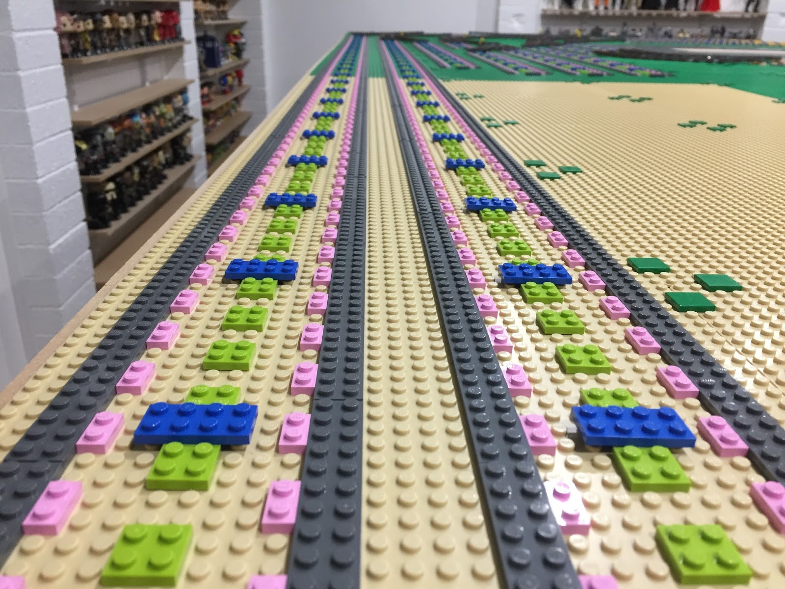 Benny S Bricks Bricks Bricks Lego Fan Blog Benny S Lego City Update 2 Train Track Ballast