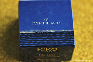 Review: KIKO Fall Collection LE - Magnetic Exeshadows - 01 Over the Taupe - www.annitschkasblog.de