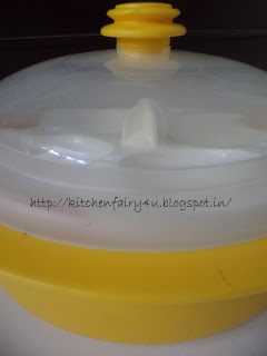 Kitchen Fairy How To Use A Microwave Idli Container