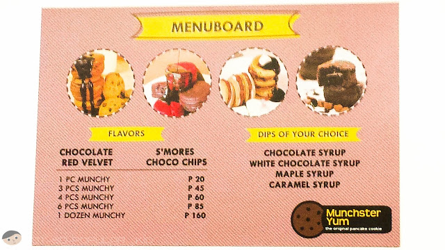 Menu and Prices of Munchies - Munchster Yum