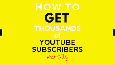how-to-get-subscribers