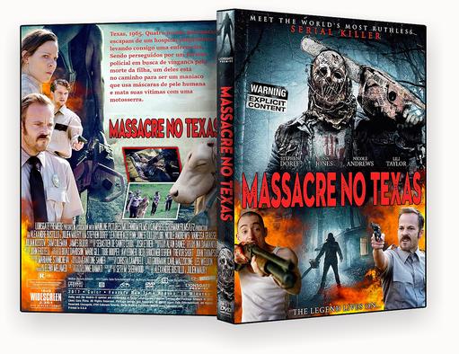 CAPA DVD – Massacre no Texas (2018) DVD-R