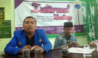 Bidang Internal PMII Jawa Timur Komitmen Kawal Pengaderan
