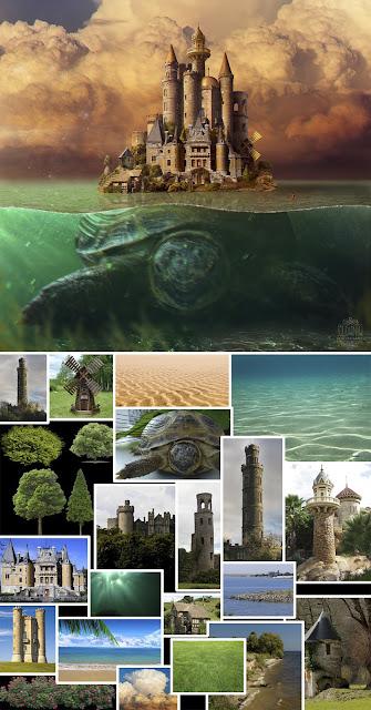 Черепаха і замок