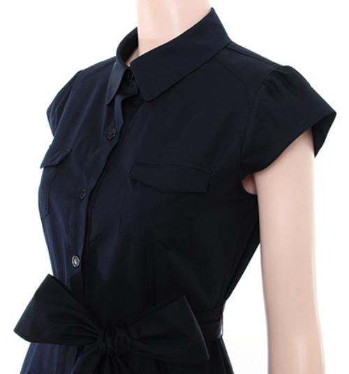 Ana Capri Short Sleeve Shirt Dress