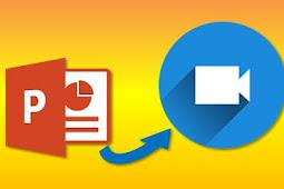 Cara Mengubah Powerpoint Jadi Video Tanpa Software atau Aplikasi