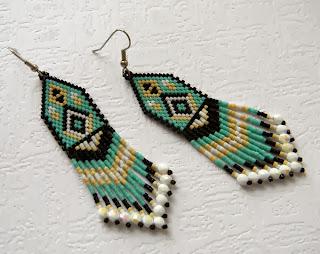 купить украшения из бисера подарок девушке женщине россия крым