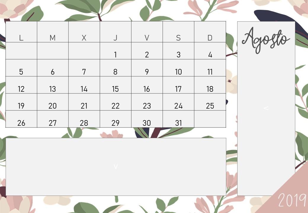 Calendario De Agosto 2019 Para Imprimir.Calendario Diciembre 2019 Para Imprimir Imprimir T