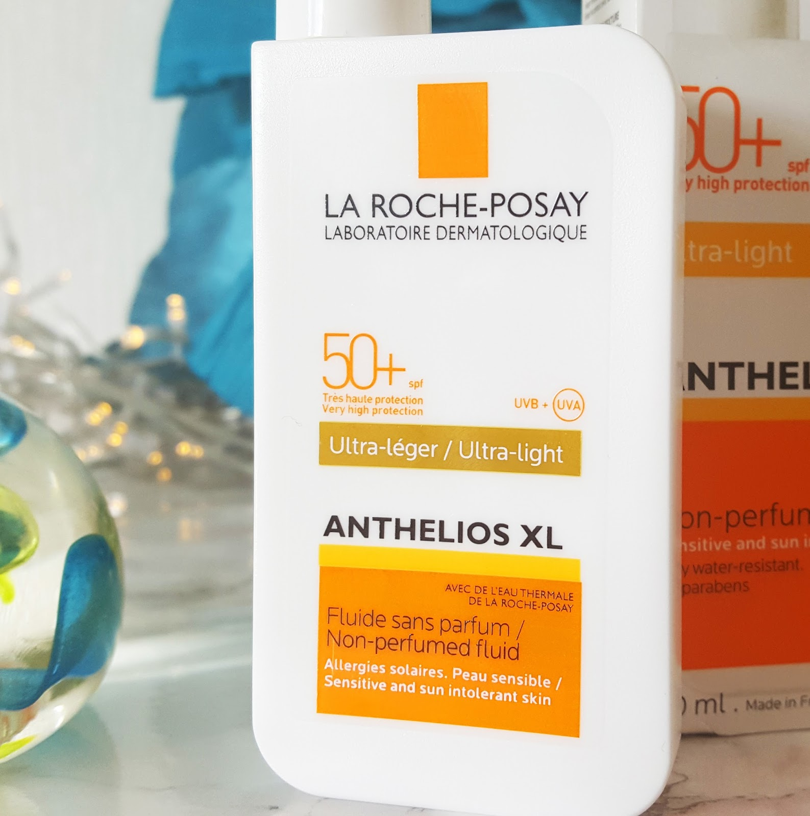 Does what it says on the bottle: La Roche-Posay's Anthelios SP50