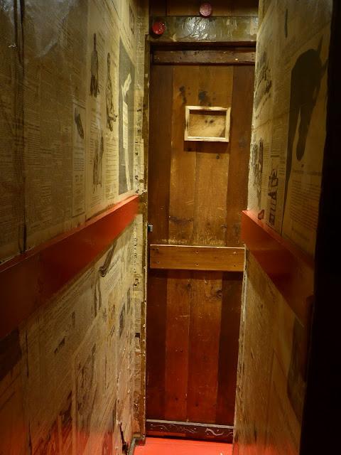 passage secret de la maison du Bootlegger à Sainte-Agnès Québec