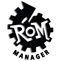 ROM Manager Screen shot