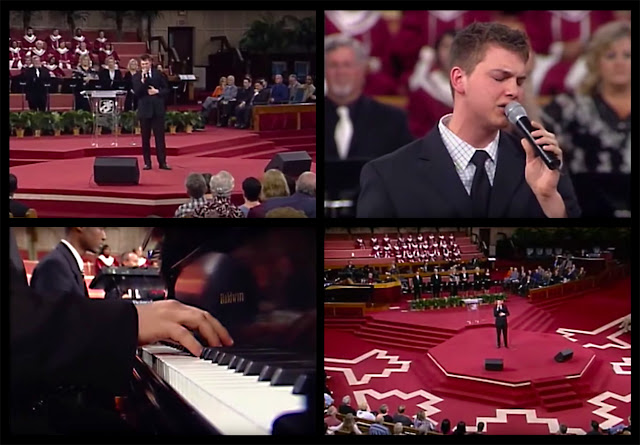 Video Capture:  Joseph Larson - Hallelujah Praise The Lamb