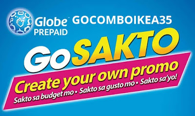 GOCOMBOIKEA35 : Unli Calls to Globe/TM/ABS-CBN/Cherry + 1GB Surfing