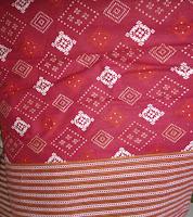 Kain Batik Prima Songket Merah [0049]
