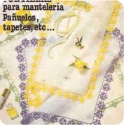 Puntillas para pañuelos finos a Crochet