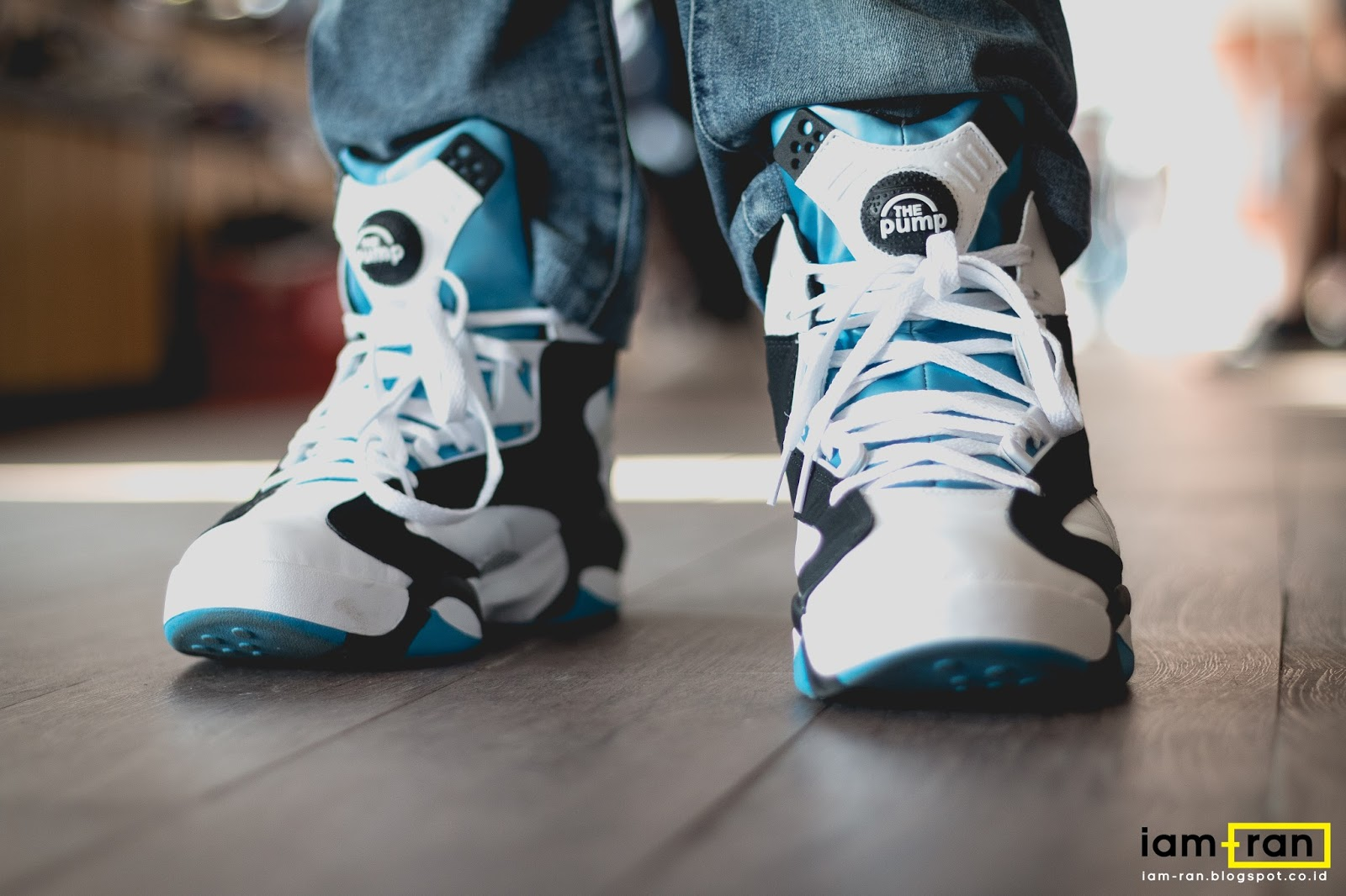 IAM RAN: ON FEET : Said Reebok Shaq Attaq