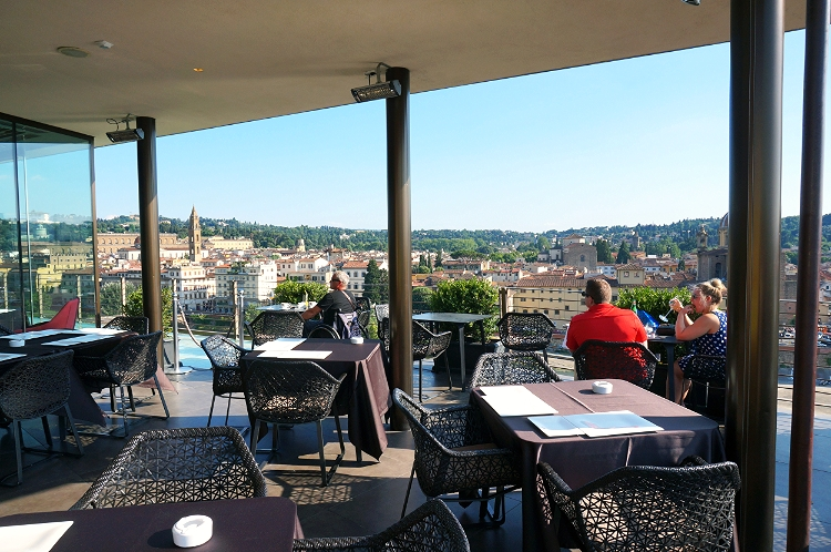 Euriental - luxury travel & style, Westin Excelsior rooftop bar, Florence, Italy