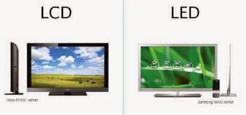 perbedaan monitor LCD dan LED
