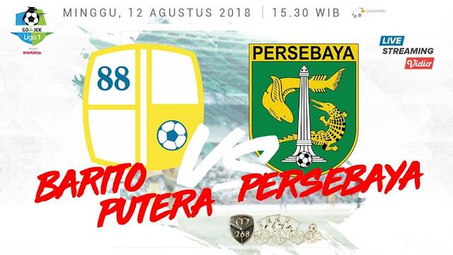 Prediksi Barito Putera Vs Persebaya Surabaya, Minggu 12 Agustus 2018 Pukul 15.30 WIB