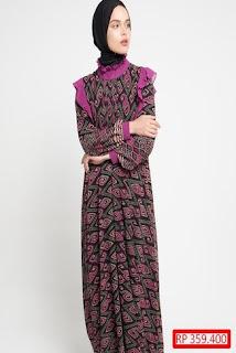 Gamis Batik Dan Sifon