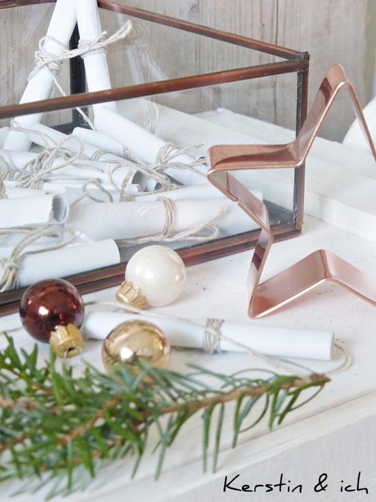 DIY-Adventskalender mit Kupfer