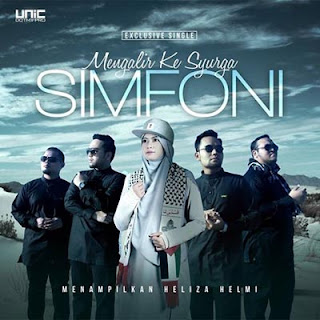 Lirik Lagu Simfoni - Mengalir Ke Syurga feat Heliza Helmi