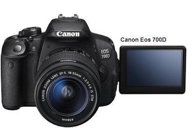 Spesifikasi dan Harga Kamera Canon Eos 700D Tahun 2015
