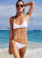 Camille Rowe sexy bikini body photo shoot Victoria's Secret swimwear models