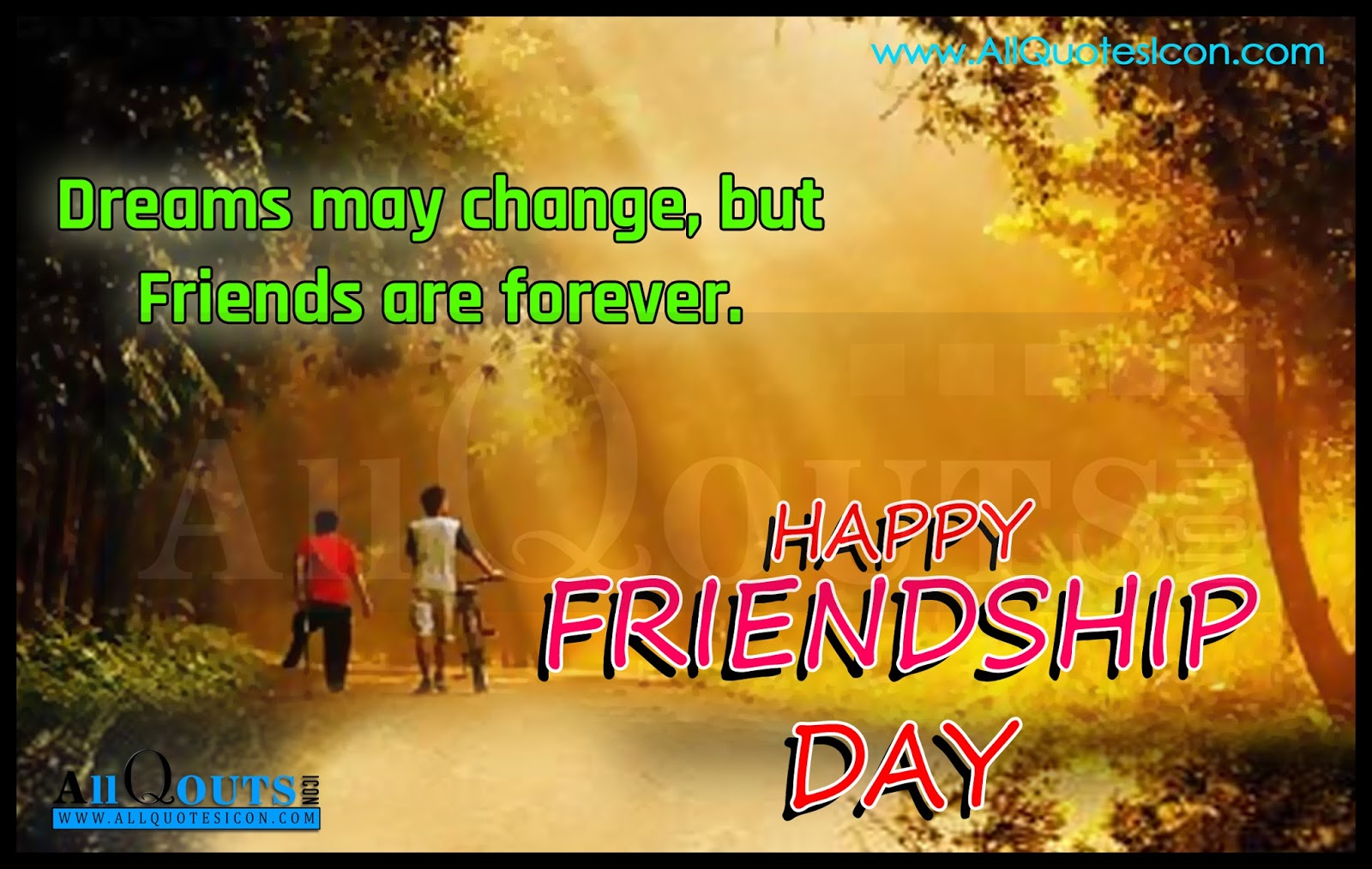 Friends Forever Quotes For Friendship Day Best Inspiration English