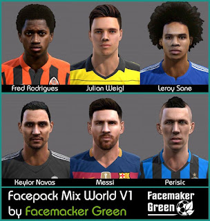 Facepack Mix World 2016 PES 2013 By Green