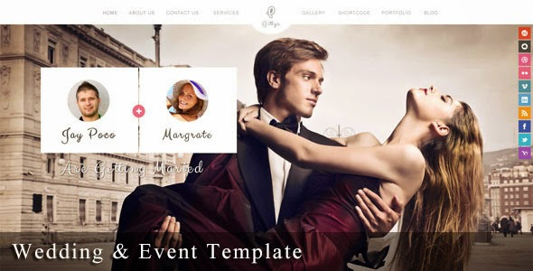 themeforest wedding