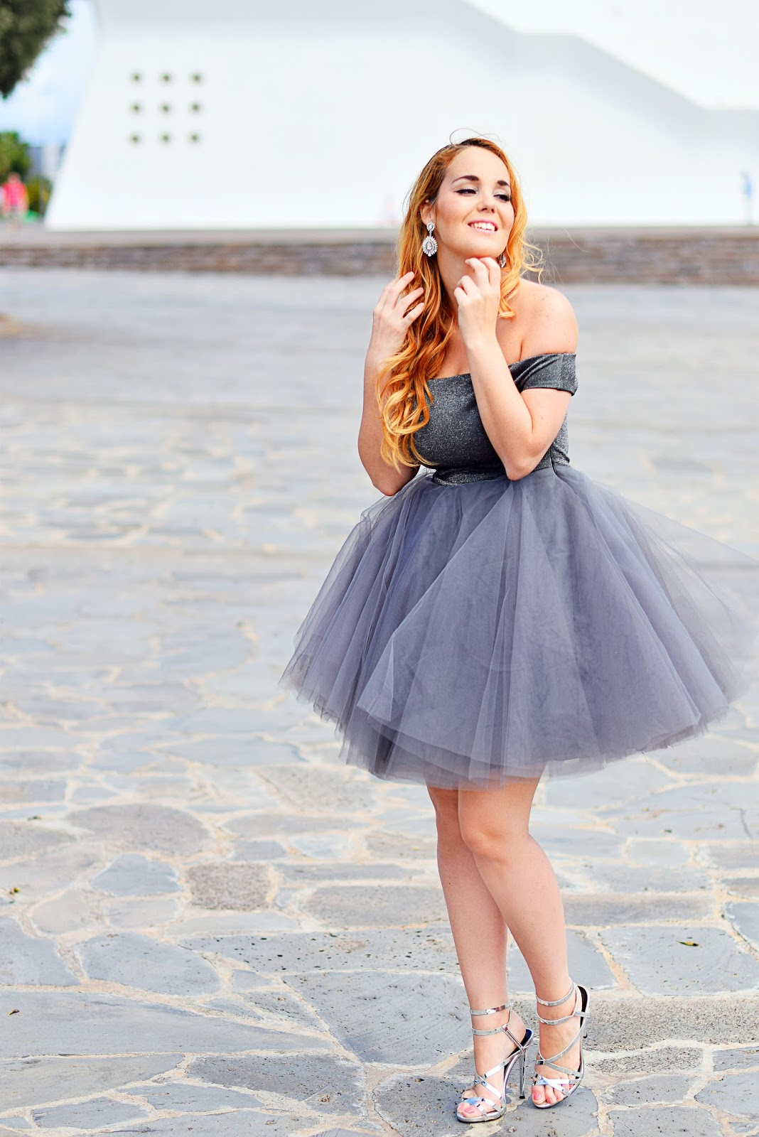 nery hdez, tutú dress, jones and jones, amiclubwear, fashion blogger españa, carolee,