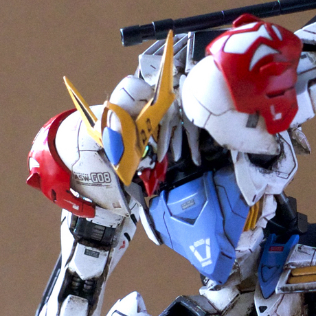 Custom Build: HG 1/144 Gundam Barbatos Lupus