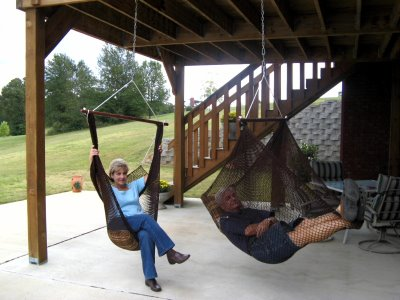 Hammock Chairs Furniture For Your Front Porch Home