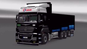 Mercedes Benz Axor 3240 Edit truck mod