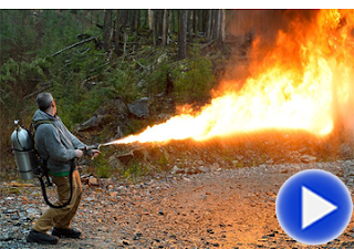 not a flamethrower