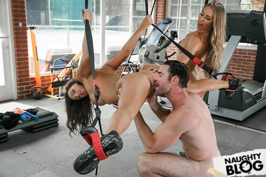 Big Tits In Sports – Nicole Aniston & Abigail Mac