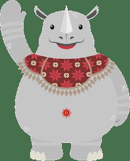 KAKA, Logo dan Maskot Asian Games 2018